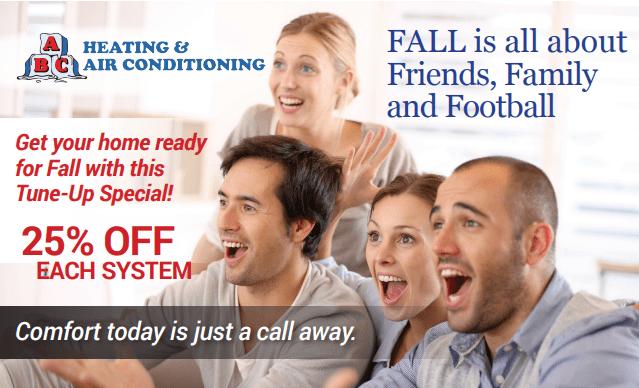 fall post card